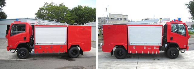1300L水槽付(輸出車)